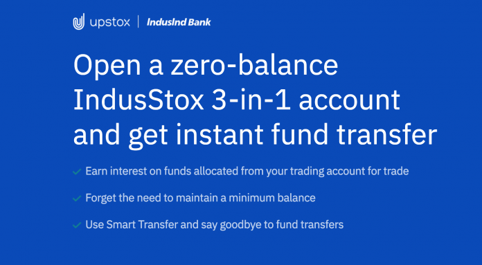 Upstox Demat trading account